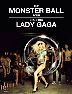 lady gaga monster ball tour setlist