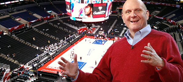 Steve Ballmer Owner of the Los Angeles Clippers