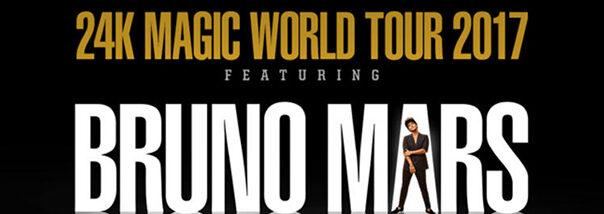 Bruno Mars Set-list 24K Magic World Tour Filled With Funk!