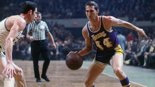 jerry west los angeles lakers all-time roster