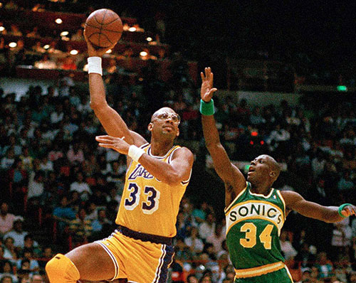 kareem abdul jabbar los angeles lakers all-time roster