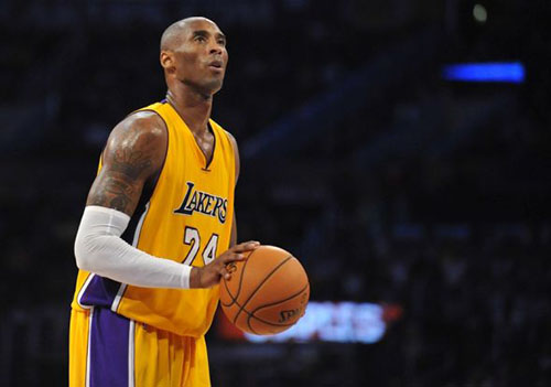 kobe bryant  los angeles lakers all-time roster