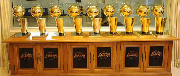 Los Angeles Lakers Trophies