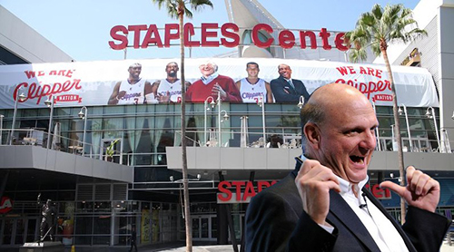 Steve Ballmer Los Angeles Clippers owner