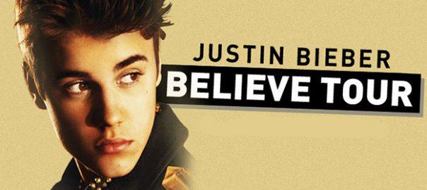 justin bieber setlist believe tour