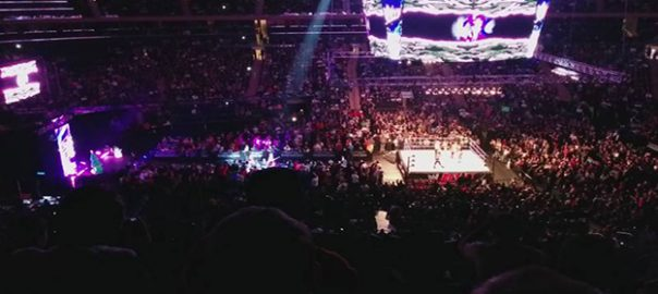 WWE Smackdown Honda Center