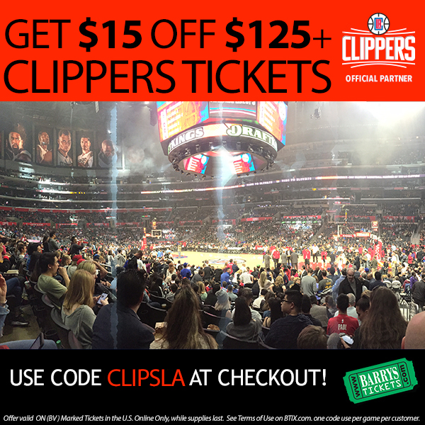 LA Clippers Tickets Promo Code