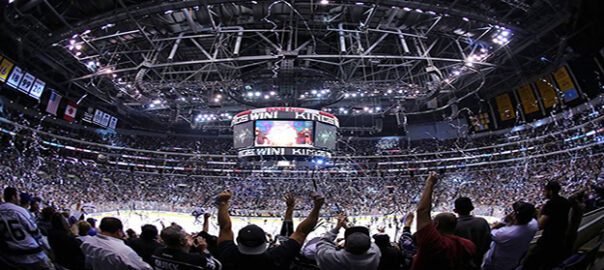 Los Angeles Kings vs New Jersey Devils Playoffs Round 4 Home Game 3