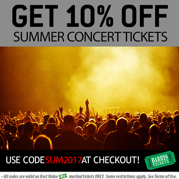 Summer Concerts LA Tickets Discount Code