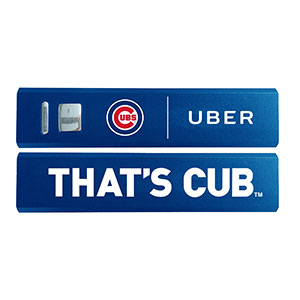 Cubs Power Bank giveaway