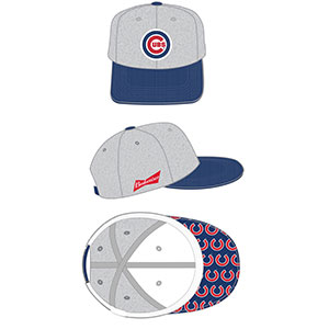 Cubs Printed Bill Cap