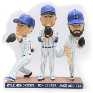 Cubs Starting Aces Bobblehead