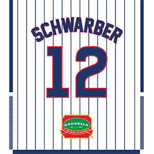 Kyle Schwarber Jersey Lunch Bag