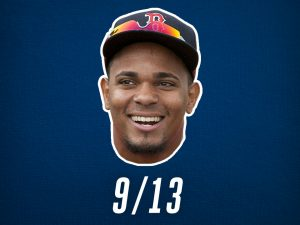Xander Bogaerts Gnome Giveaway Game