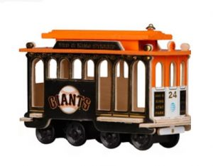 giants cable car replica 2017 giveaway