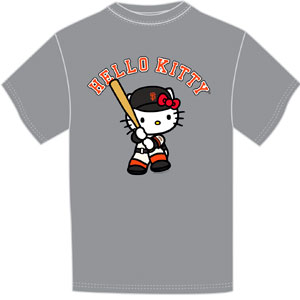 Giants 2017 Hello Kitty Day T-Shirt