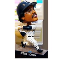 Reggie Jackson Bobblehead Game 2017