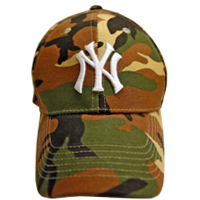 Yankees Camo Cap Day