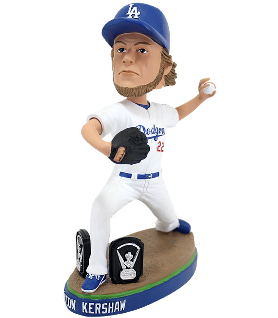 Clayton Kershaw Cy Young Bobblehead 2014