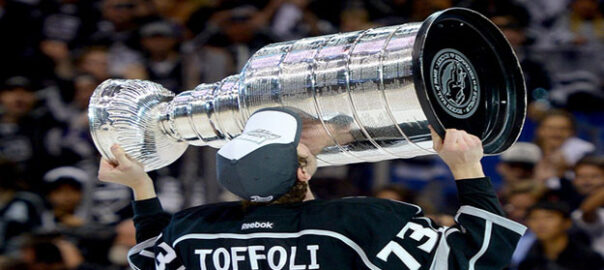 Tyler Toffoli Bobblehead Giveaway Night Staples Center