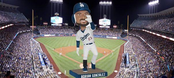 Dodgers adrian gonzalez bobblehead giveaway