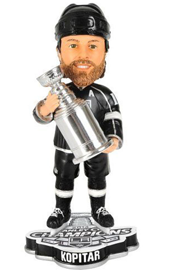 anze kopitar bobblehead stanley cup champions 2012