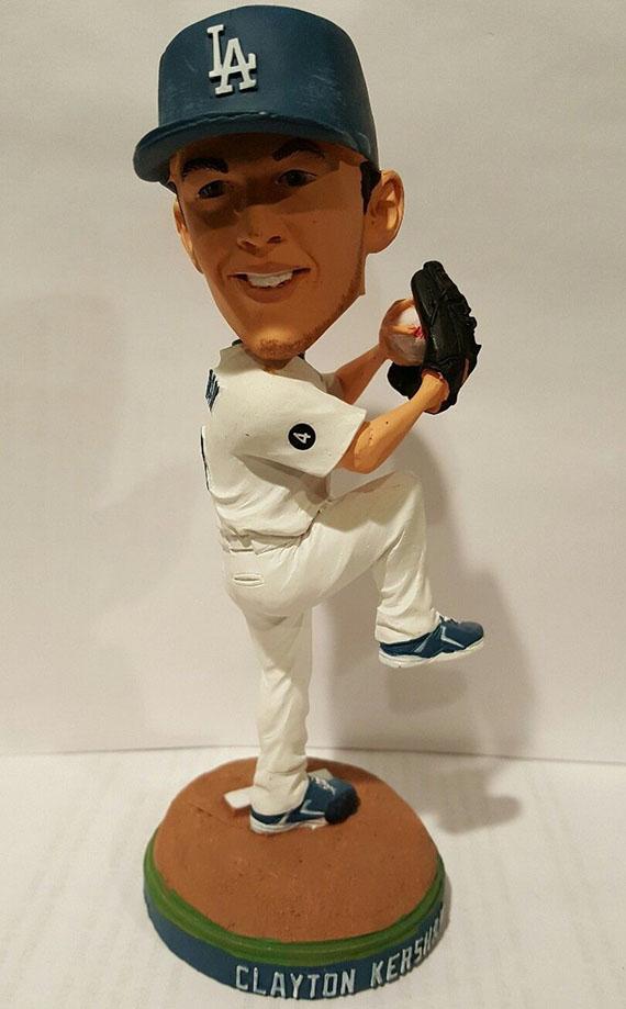 Dodgers Clayton Kershaw 2011 Bobblehead NIB. Cy Young Winner