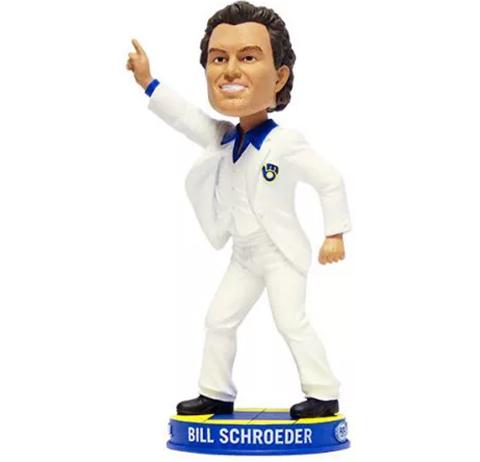 bill schroeder bobblehead