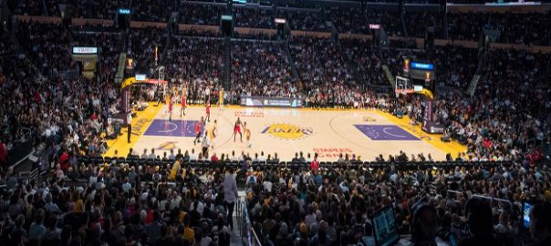 Lakers section 112 seats