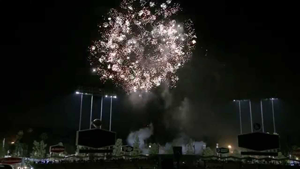 dodger stadium fireworks loge box