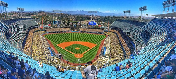 Impressing a guest Dodger Stadium best seats