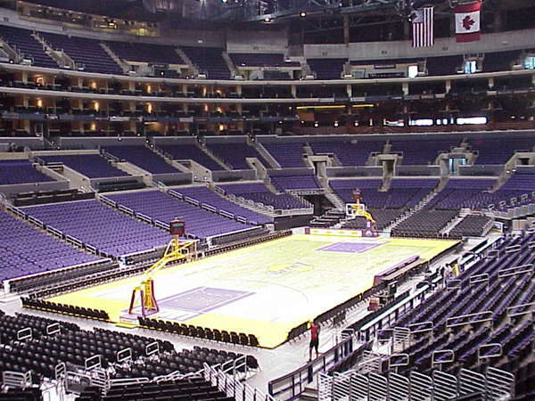 Section 205 staples center lakers game