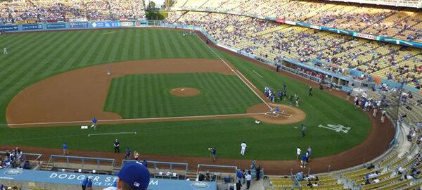 Top Deck View Dodger Stadium Stunning Views Of The Field