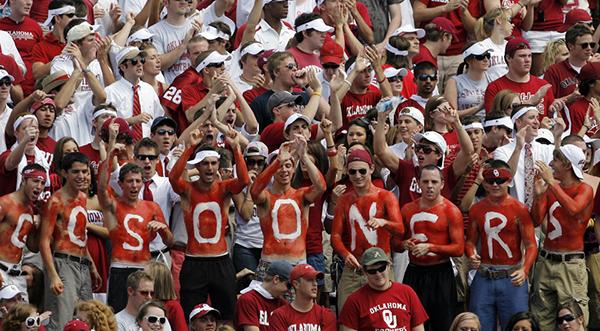 Oklahoma Sooner Fans