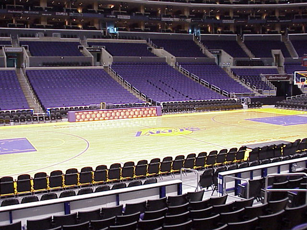 LA Lakers section 112 staples center