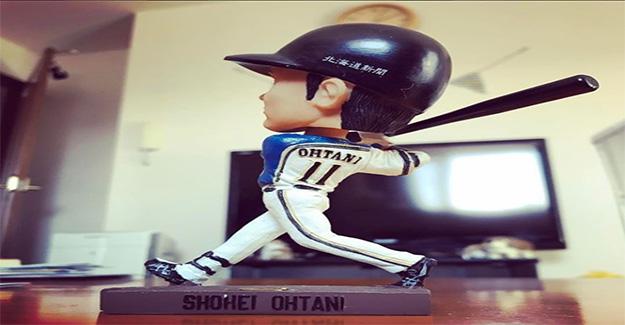Angels Shohei Ohtani Bobblehead game