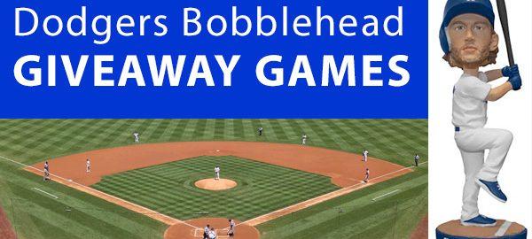 Dodgers 2018 Bobblehead Giveaway Games (10 Terrific Games)