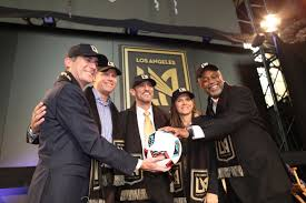 LAFC ground breaking ceremony
