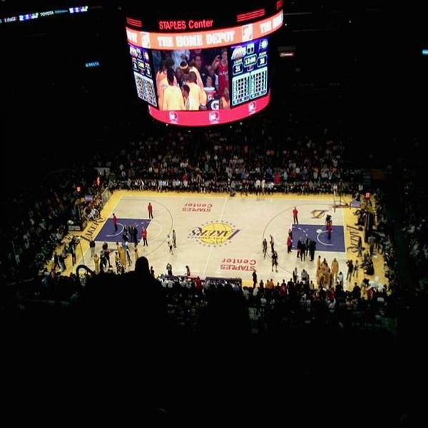 Lakers section 334 staples center