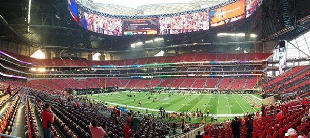 Atlanta Falcons Stadium Mercedes Benz Stadium