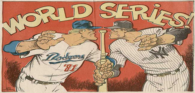 Yankees Dodgers World Series rivalry