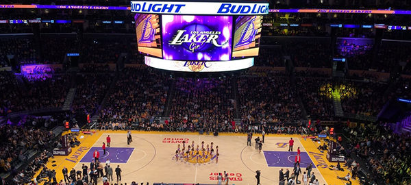 Lakers Clippers Game Staples Center