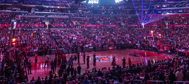 LA Clippers Game at Staples Center