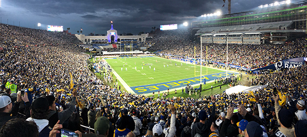 Los Angeles Rams home game
