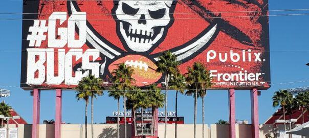 Who do the Buccaneers play in 2020?