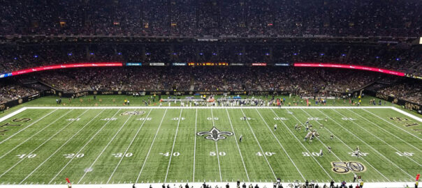 Who do the Saints play in 2020?