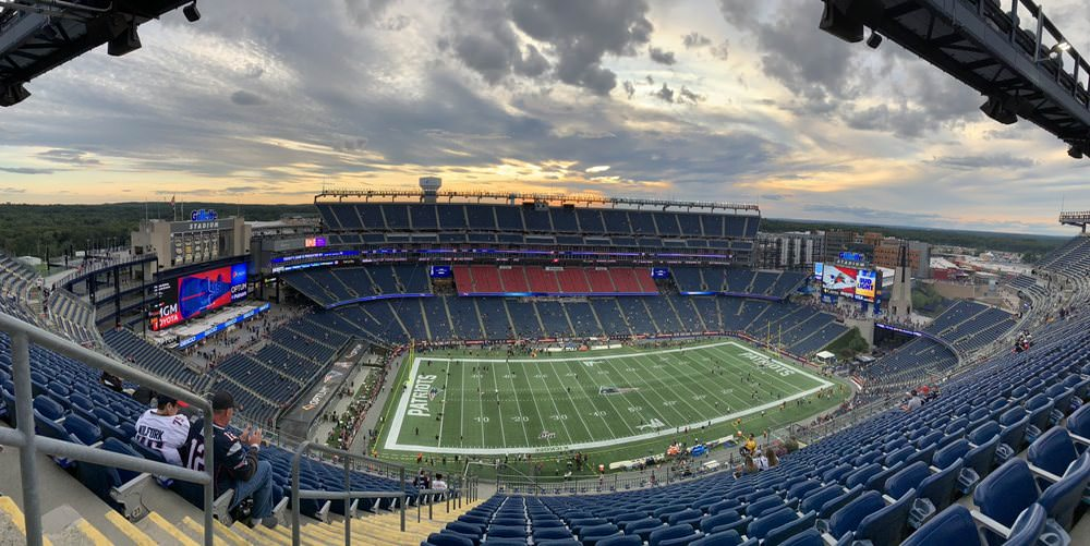 New England Patriots Playoff Game Tickets
