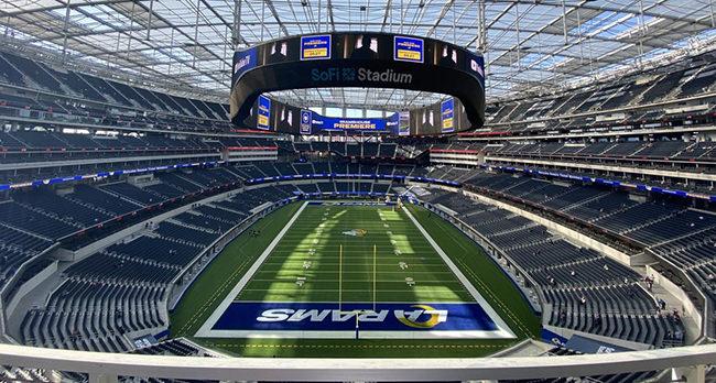 Los Angeles Rams vs Tampa Bay Buccaneers Tickets Sofi Stadium!
