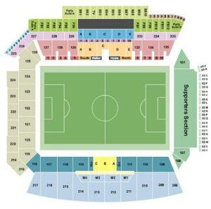 Banc of California Stadium Seating Chart Soccer