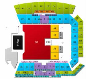 Banc of California Stadium Seating Chart Concert General Admission Pit